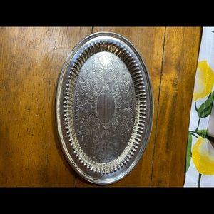 Vintage Oneida small oval platter